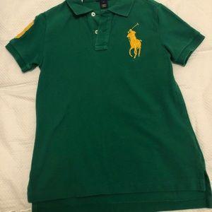 Ralph Lauren boy polo!